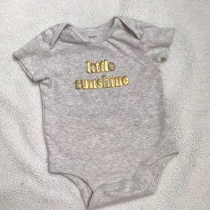 Size 12 months Carter's onesie